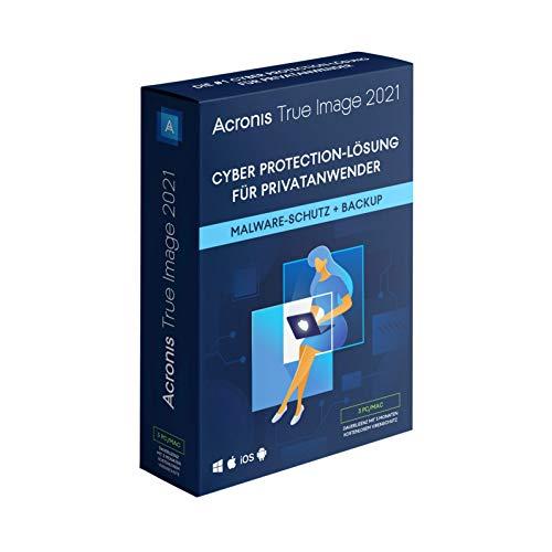 Acronis True Image 2021 Standard 3 PC Dauerlizenz PC/MAC/Android/iOS Download Download