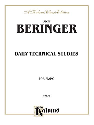 Daily Technical Studies for Piano (Kalmus Edition)