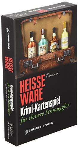 Gmeiner 581642 Heiße Ware Kartenspiel, Neu