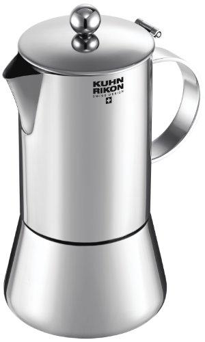 Kuhn Rikon 38094 Cafetera Italiana Espresso Juliette Acero Inoxidable 0,3L 6 Tazas inducción