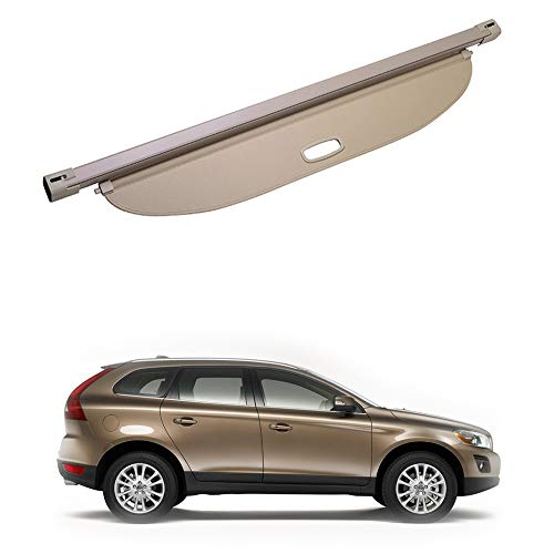 BENME Cargo Cover For Volvo XC60 2009-2016 Retractable Security Shield Rear Boot Luggage Parcel Shelf Trunk Privacy Shade Car Accessories