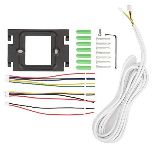 Videoportero, 800x480 Timbre de videoportero visual de 2 vías y gran angular de 90 °, visión nocturna por infrarrojos, para el hogar, el apartamento(Transl)