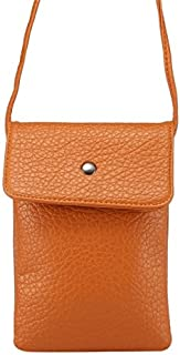 2018 Phone Covers for iPhone 6s Plus, Samsung Galaxy Note 5 & Note 4 / A8 / S6 Edge+, Huawei P8 & P7 / Honor 6 Plus, 6.3 Inch Universal Litchi Texture Vertical Multi-Function Leather Shoulder Bag