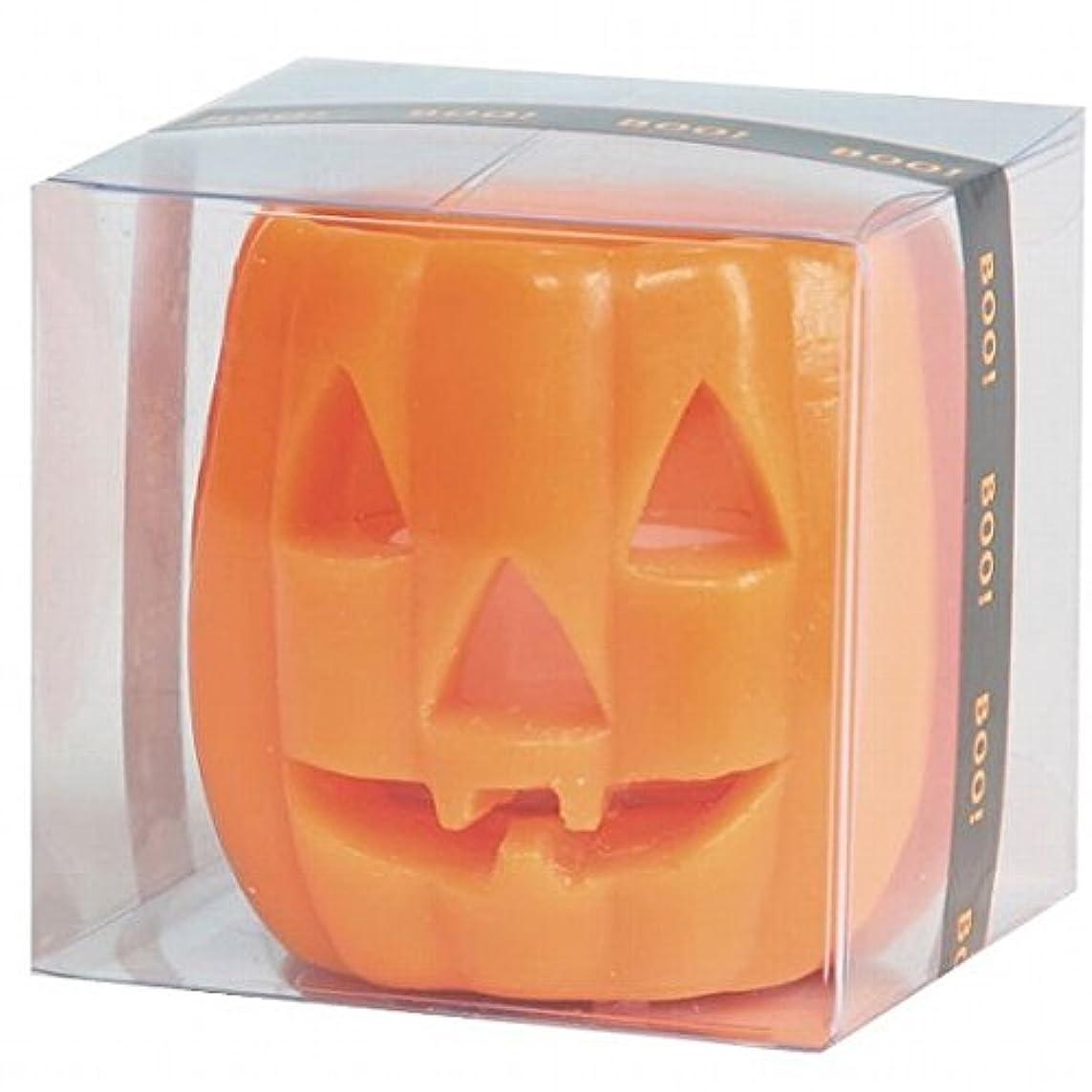 土器オセアニア目的カメヤマキャンドル(kameyama candle) パンプキンフェイスS 「 オレンジ 」 キャンドル