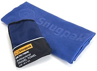 SnugPak Microfibre Antibacterial Towel, Coyote,