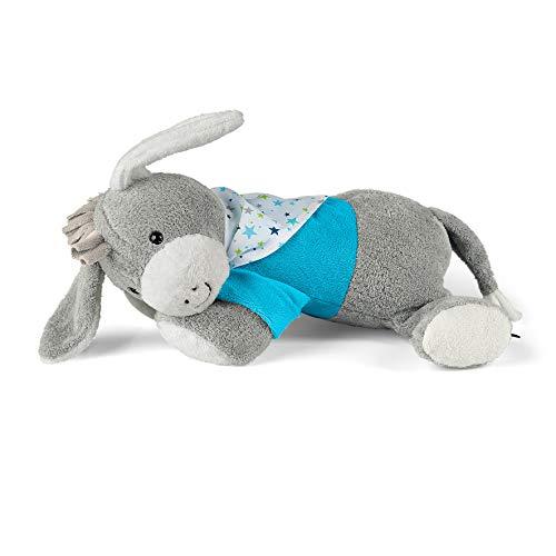 Sterntaler Schlaf-gut Figur Esel Erik ( DE 34407560) mit integriertem Herztonmodul, Alter: Für Babys ab der Geburt, Grau