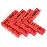 Abrazadera de posicionamiento de 90 grados, tipo L, abrazadera de ángulo recto, herramienta de carpintería, localizador auxiliar de plástico, cuadrado, soporte de ángulo para carpinteros