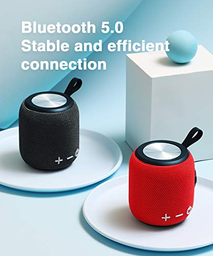 Bluetooth Speaker,Portable Dual Pairing Loud Wireless Mini Speaker, 360 HD Surround Sound & Rich Stereo Bass,12H Playtime, IPX6 Waterproof for Travel, Outdoors, Home and Party 4