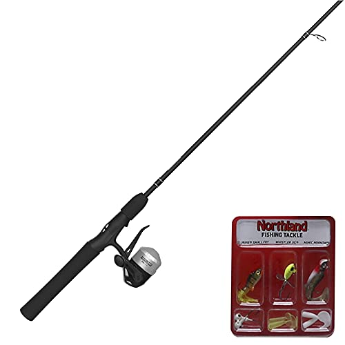 Zebco 33 Micro Spincast Reel and Fishing Rod Combo, 4-Foot 6-Inch...