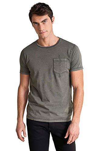 Salsa Camiseta con Tinte Vegetal y Bolsillo