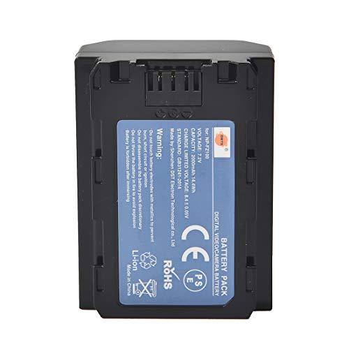 DSTE NP-FZ100 Compatible con Sony Alpha 9, Alpha 9R, ILCE-9, ILCE-7RM3, NPA-MQZ1K, α7 III, α9