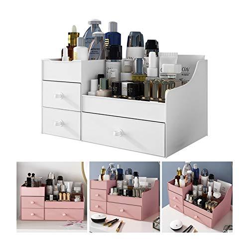 joyvio Make-up Organizer, Kosmetik Aufbewahrungsbox - Schmuck Aufbewahrung Mit Schublade - Große Kapazität - Geeignet Für Ihre Unterschiedliche Größe Von Kosmetika Für Badezimmer...