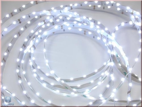 5m Flexible Side view LED SMD Streifen 60 LEDs/m weiß