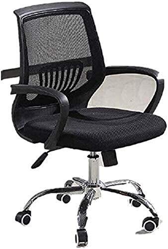 Sedia da Ufficio Sedia da ufficio Scatola scrivania ergonomica sedia a maglia orgonomica sedia per imbottitura ufficio imbottitura sedia ufficio ergonomico design Poltrona ( Color : Black )