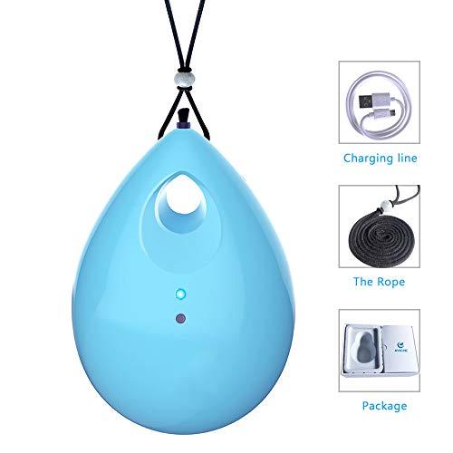 Wenore persoonlijke luchtreiniger op reis negatieve ionen-generator eliminator voor rook, stof, geuren en een cadeau om je liefde te beschermen