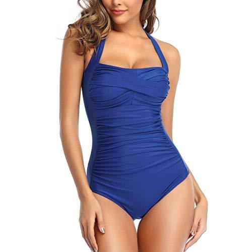Dames Voor Mollige Badpak Retro Bikini Set Dames Bikini'S Eendelige Push-Up Monokini Goedkope Badmode Strandjurk Over Zomer Badpak