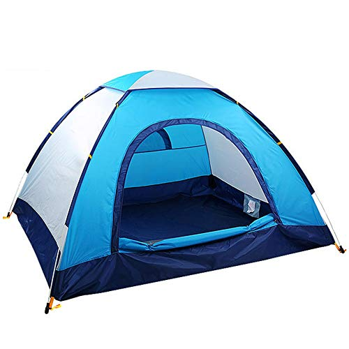 Compact Yurts Are Also Garden CampingCompact Yurts Glass Fiber Pole Lightweight Outdoor Tent Quick Automatic Opening Camping Tent Light Camping and Hiking Tents ( Color : Blue , Size : 200x180x110cm )