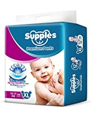 Supples Premium Pants XL Size Diapers (54 Count)