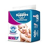 Easy to pull up and remove Upto 12 hours of absorption Made from non woven, soft and breathable material that is gentle on your baby's skin Zig-Zag channel top layer creates a larger absorbing area and helps in uniform liquid distribution The bottom ...
