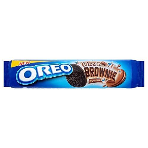 Oreo 6X Brownie Pâte 154G Biscuit Sandwich