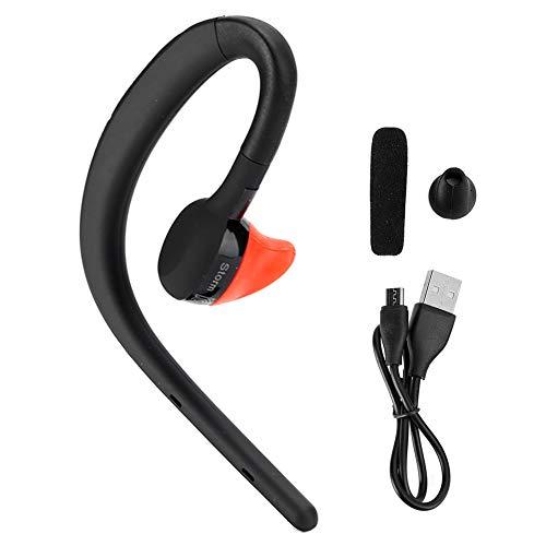 Vipxyc Auriculares inalámbricos Bluetooth Auriculares Colgantes universales Auriculares estéreo Gancho para la Oreja con Tapones para los oídos ergonómicos