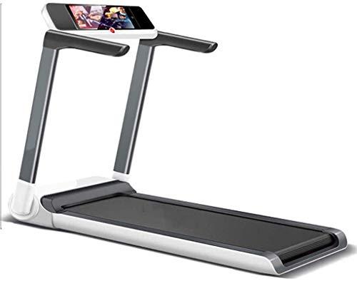 Cinta de correr para casa con inclinación en casa, pequeño gimnasio de fitness, cinta de correr eléctrica con pantalla LCD, plegable, ultra silenciosa y plana Peng BJY969