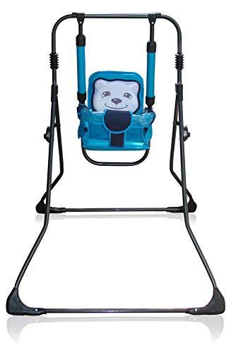 2in1 Kinderschaukel Babyschaukel Babywippe Zimmerschaukel Gartenschaukel; Indoor/Outdoor Baby Schaukel und Hochstuhl in einem (Tiger)