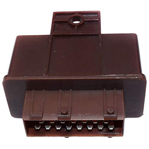 Haude - Relé doble para bomba de combustible 106, 206, 306 19207L, 9629945980, 96299459,240109,7240109,1920.7L, 1920 7L
