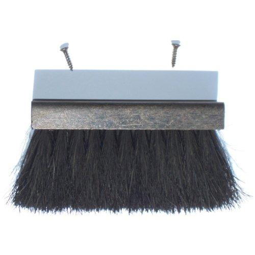 FIREFIX KB/01 - Cepillo para Chimenea (Coco de 60 mm, Madera de 135 x 35 x 13 mm), Color Negro
