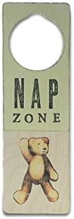 Tree By Kerri Lee Wooden Doorknob Sign, Nap Zone
