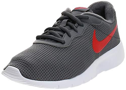 Nike Tanjun (GS), Scarpe da Fitness Donna, Multicolore (Dark Grey/University Red/White 020), 38.5 EU
