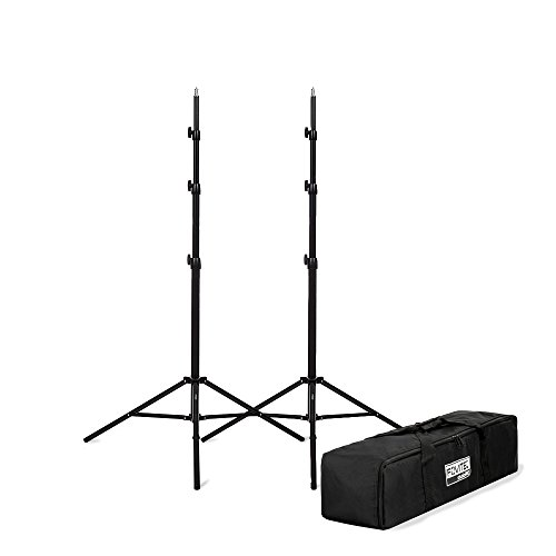 Fovitec - 8'3' Light Stand Kit for Photo & Video with Case
