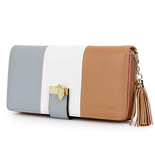 Ladies Purse, Women's Wallet with Multiple Card Slots and Roomy Compartment...