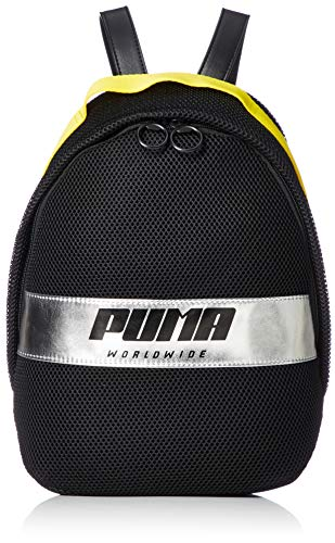 Puma Prime Street Archive Backpack Damen Rucksack Schwarz-Gelb