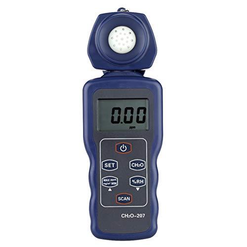 DZSF Tragbare Formaldehyd-Monitor Formaldehyd CH2O Tester Hygrometer Raumluftqualität Detektor Feuchtemessung Meter