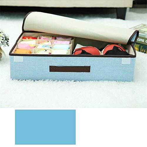 ZXL Ondergoed Opslag Organizer Divider Garderobe Organizer, Vouw Organizer Closet Organizer Opbergdozen voor het opslaan van sokken, beha, zakdoeken. Voor dames en heren.