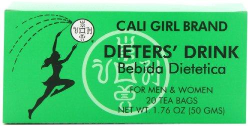 Cali Girl Brand Dieters' Drink Bebida Dietetica 20 Tea Bags...