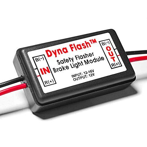 Krator Brake Taillight Flasher Rear Alert Back Off Light Compatible with Honda VTX 1300 1800 Valkyrie Rune 1500