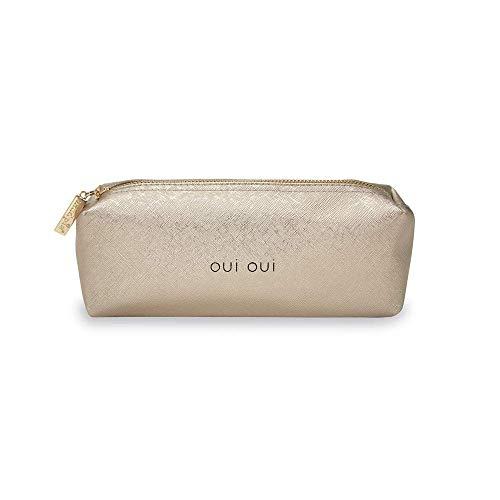 Mud Pie Women's Brush Bag Gold