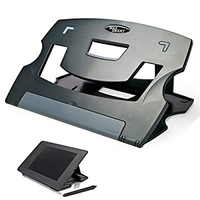 MAX SMART Tablet Drawing Stand Laptop Stand Riser, Book Reading Stand, Foldable