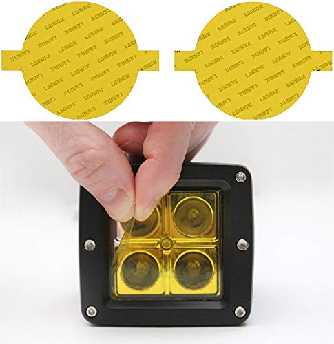 yellow fog light covers - 5