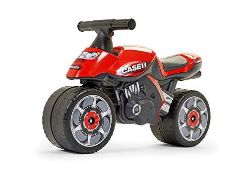 FALK - Moto draisienne Case IH - Dès 12 mois - Fabriqué en France - Roues extra larges - Développe l'équilibre et la motricité - 421