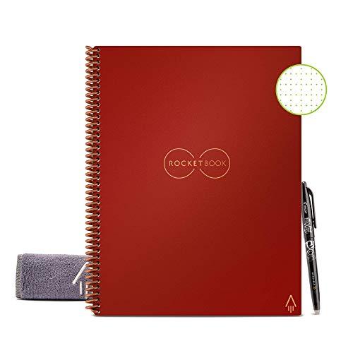 Rocketbook Cuaderno Digital Inteligente Core Diario Reutilizable - Tamaño...