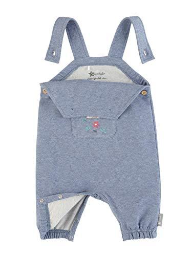 Sterntaler Baby-Girls Latzhose Overalls, Jeans Mel, 68