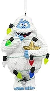 Hallmark Rudolph the Red Nosed Reindeer Bumble Tangled in Lights Ornament