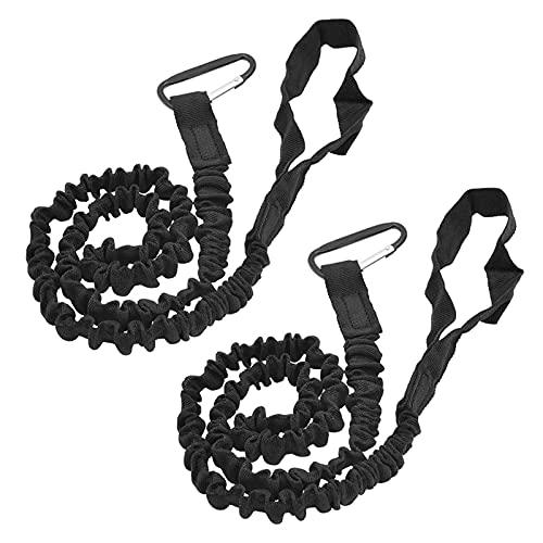 Daerzy Ferramenta de segurança para caiaque com guia de remo para caiaque e cordão extensível para caiaque