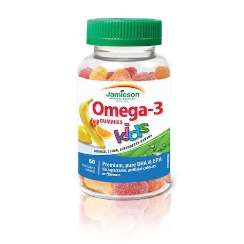 Jamieson Omega-3 Kids Gummies 60 Gummies