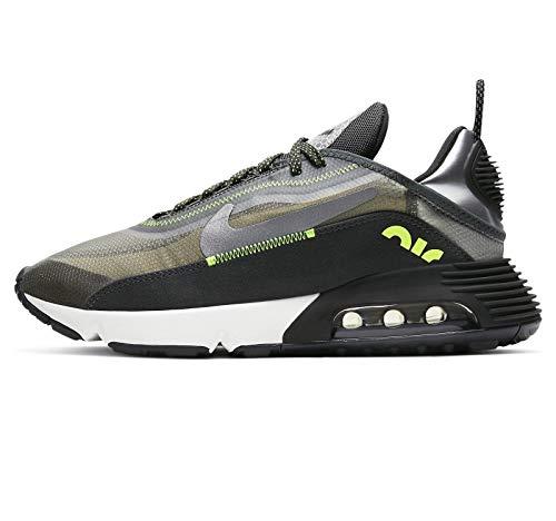 Nike Air MAX 2090 SE 3M, Zapatillas para Correr Mujer, Anthracite Volt Black Newsprint, 39 EU