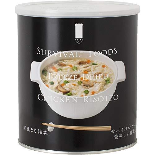 サバイバルフーズ 洋風とり雑炊 小缶(2.5食相当)
