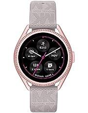 Michael Kors Damen Gen 5E MKGO Touchscreen Smartwatch mit Lautsprecher, Herzfrequenz, GPS, NFC und Smartphone Benachrichtigungen
